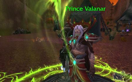 Способности Принц Валанар